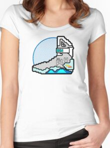 Run Or Fly Women's Fitted Scoop T-Shirt