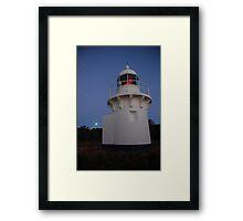 Full Moon at Fingal Head Lighthouse Framed Print