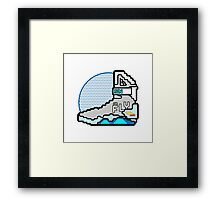 Run Or Fly Framed Print