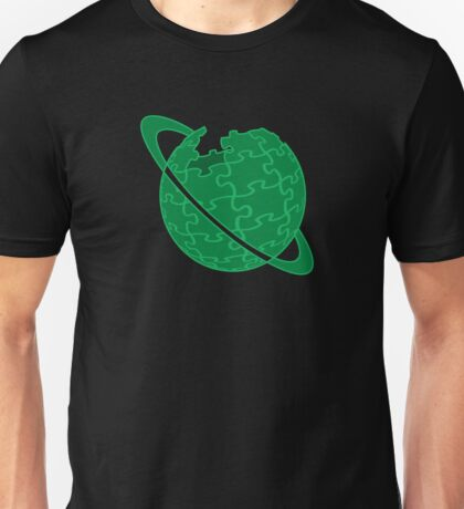 The Hitchhiker's Wiki to the Galaxy Logo Unisex T-Shirt