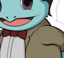 Squirtle Who Sticker
