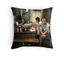 The Tough Guy #0101 Throw Pillow