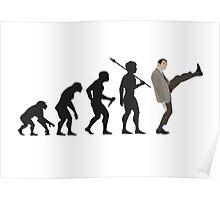 Evolution of Bean Poster