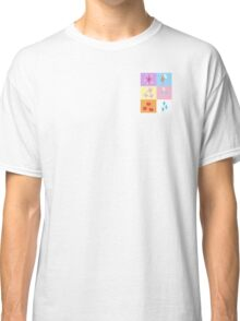 My little Pony - Elements of Harmony Cutie Mark Special Classic T-Shirt