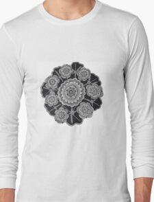 The Lotus Circle Long Sleeve T-Shirt