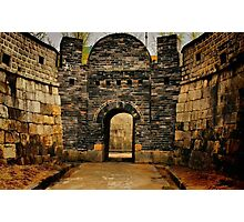 Hwaseong Fortress Gate Photographic Print