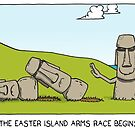meanwhile on easter island... by sardonicsalad