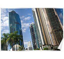 Brisbane skyline,queensland,australia Poster