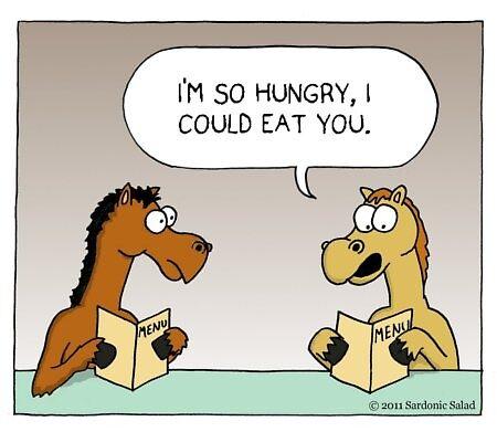 could eat a horse. by sardonicsalad