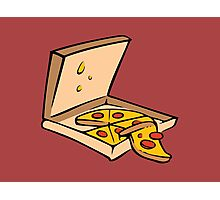 Pizza Box Photographic Print