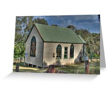 St Stephens Anglican Church, Hargraves, NSW, Australia  Greeting Card