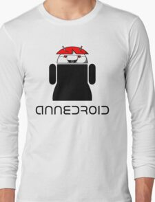 ANNEDROID Long Sleeve T-Shirt