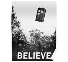 Believe - Police Box Poster