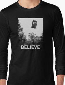 Believe - Police Box Long Sleeve T-Shirt