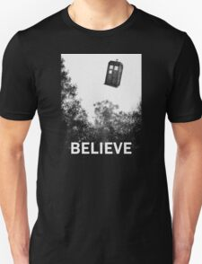 Believe - Police Box T-Shirt