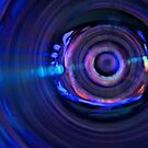C3PO in blue by Ann Reece