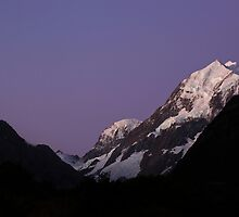 Mt Cook New Zealand by 104paul