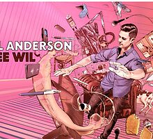 Wil Anderson - Free Wil (Mug) by James Fosdike