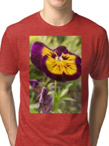violet in the garden Tri-blend T-Shirt