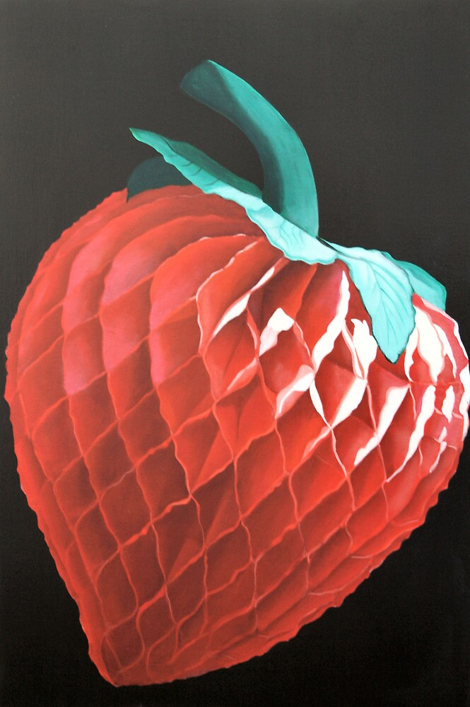 Paper Strawberry by Melodie Douglas