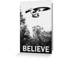 Believe - Trek Greeting Card