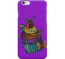Cup-cake Halloween  iPhone Case/Skin