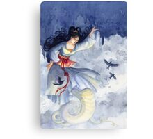 Nüwa Holding Up the Sky Canvas Print