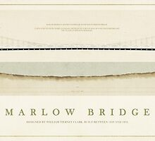 Marlow Bridge River Thames England by Old-Lundenwic