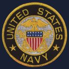Navy Emblem T-Shirt by Walter Colvin