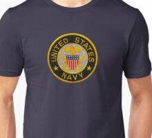 Navy Emblem T-Shirt Unisex T-Shirt