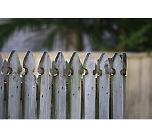 Picket Fence Photographic Print
