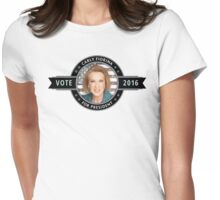 Carly Fiorina For President Womens Fitted T-Shirt