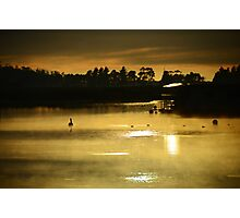 Misty Morn, St Helens Photographic Print