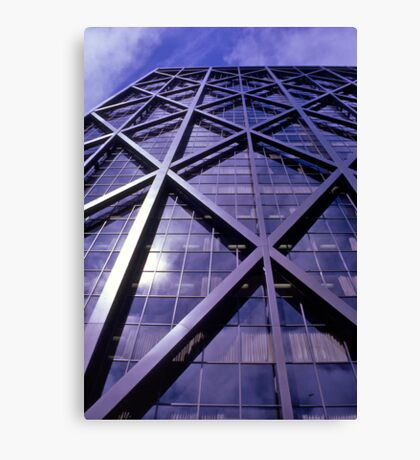 ALCOA Building, San Francisco, USA 1972. Canvas Print