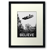 Believe - Falcon Framed Print