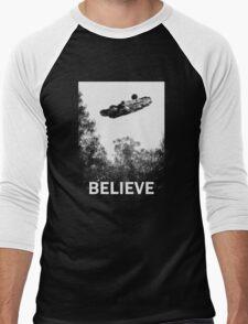 Believe - Falcon Men's Baseball ¾ T-Shirt