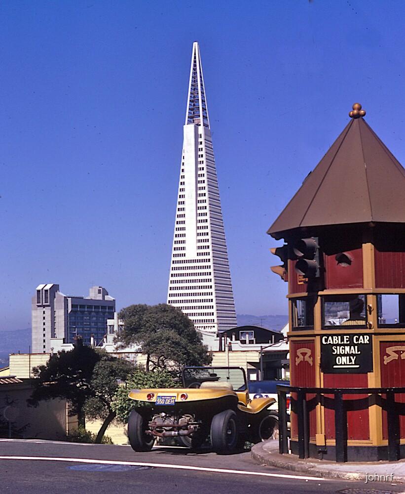 TransAmerica Tower, San Francisco, USA, 1972. by johnrf