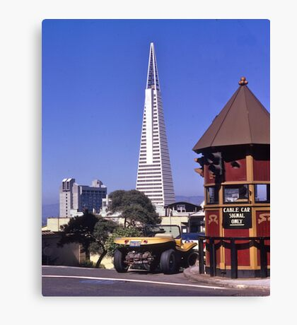TransAmerica Tower, San Francisco, USA, 1972. Canvas Print