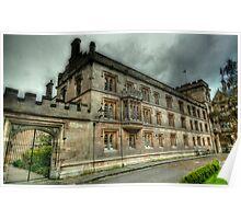 Pembroke College Oxford Poster