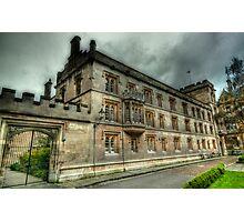 Pembroke College Oxford Photographic Print