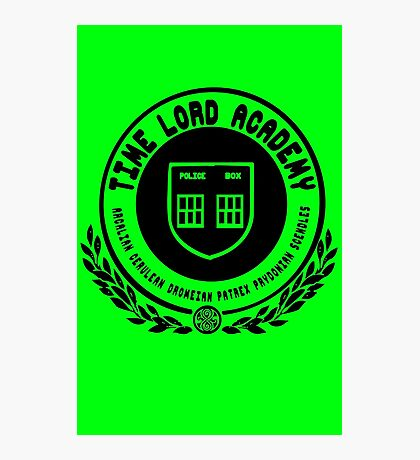 Time Lord Academy Photographic Print