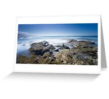 Blanket Bay Blues Greeting Card