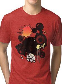 Grunge Style Music Tri-blend T-Shirt