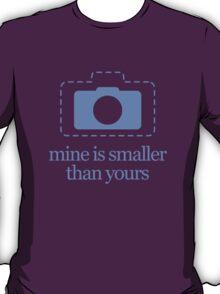 Mirrorless Cameras – Mine Is Smaller T-Shirt