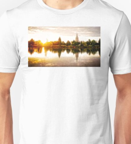 Idaho Falls Temple - Sunrise Unisex T-Shirt
