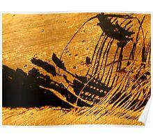 sailing stormy seas Poster