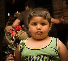 Roses are red by Aleksandar Topalovic