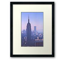 Empire State Building, New York, USA, 1972 Framed Print