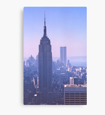 Empire State Building, New York, USA, 1972 Canvas Print