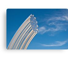 Gleaming Sculpture Canvas Print